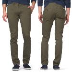 Pantalon Chino Tommy Hilfiger Denim modèle Ferry Kaki