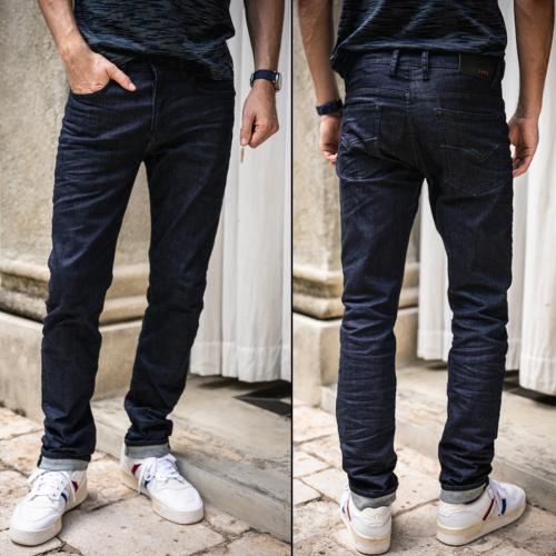 Jean droit Freeman T Porter homme Jimmy Magic Straight raw