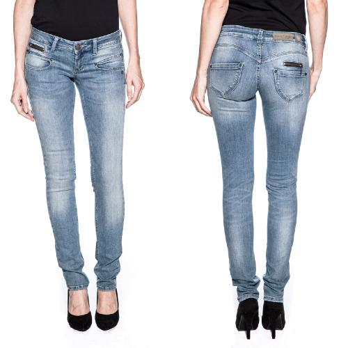jean Freeman T Porter Alexa slim femme magic denim reform bleach