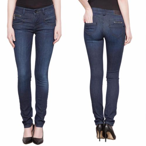 Jean femme Freeman T Porter Alexa Slim flexy dark blue