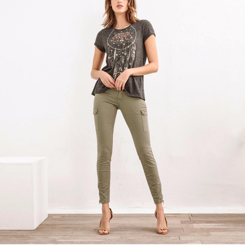 Pantalon Treillis Le Temps des Cerises Army Kaki militaire
