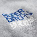 Sweat Superdry homme Challenger Henley gris