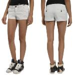 Short femme Superdry Chino Sweet blanc
