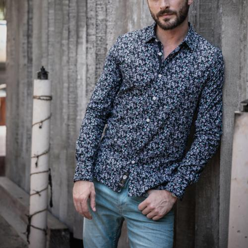Chemise Freeman T Porter homme Come Bloom