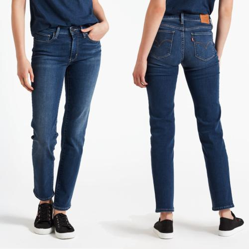 Jean femme Levis 712 read between the line