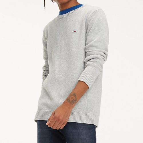 Pull gris Tommy Hilfiger Jeans pour homme