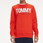 Sweat rouge Tommy Hilfiger Jeans pour homme