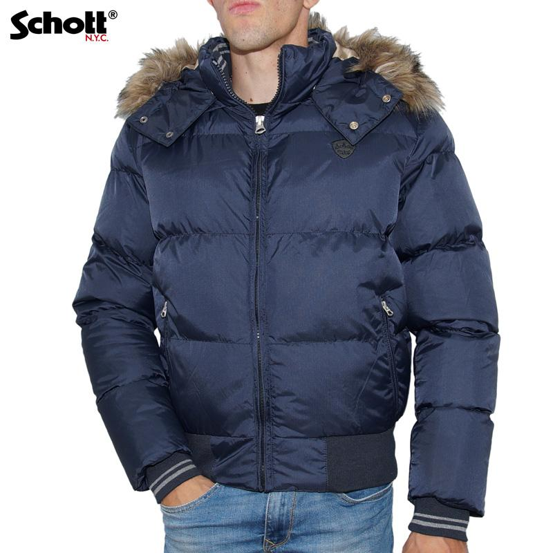 Homme Schott Modèle Couleur 2108j Doudoune Navy B4pYxq