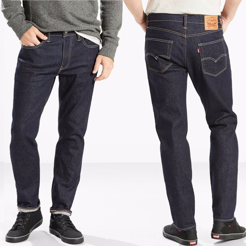 63ba198ad124a Jean homme Levis 502 chain rinse coupe droite regular taper ...