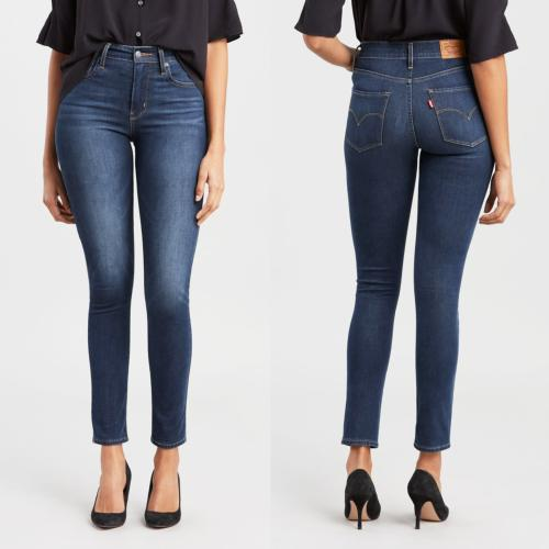 Jean Levis femme 721 Up For Grabs skinny taille haute