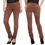 Jean Pantalon femme Freeman T Porter Alexa Slim Magic Color copper