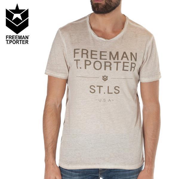 T shirt homme freeman t porter teeporter for Freeman t porter homme