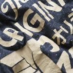 T-Shirt homme Superdry Quality Co couleur Anthracite / Navy