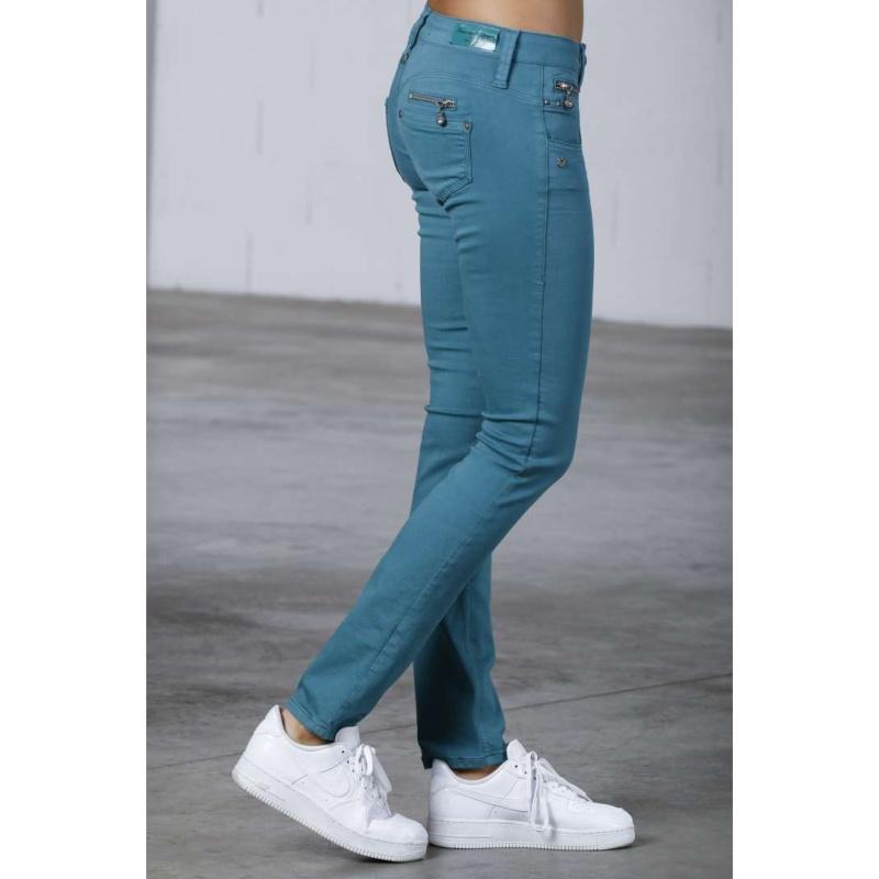 Color Magic Pantalon Bleu T Vert Freeman Porter Alexa vNn80mwO