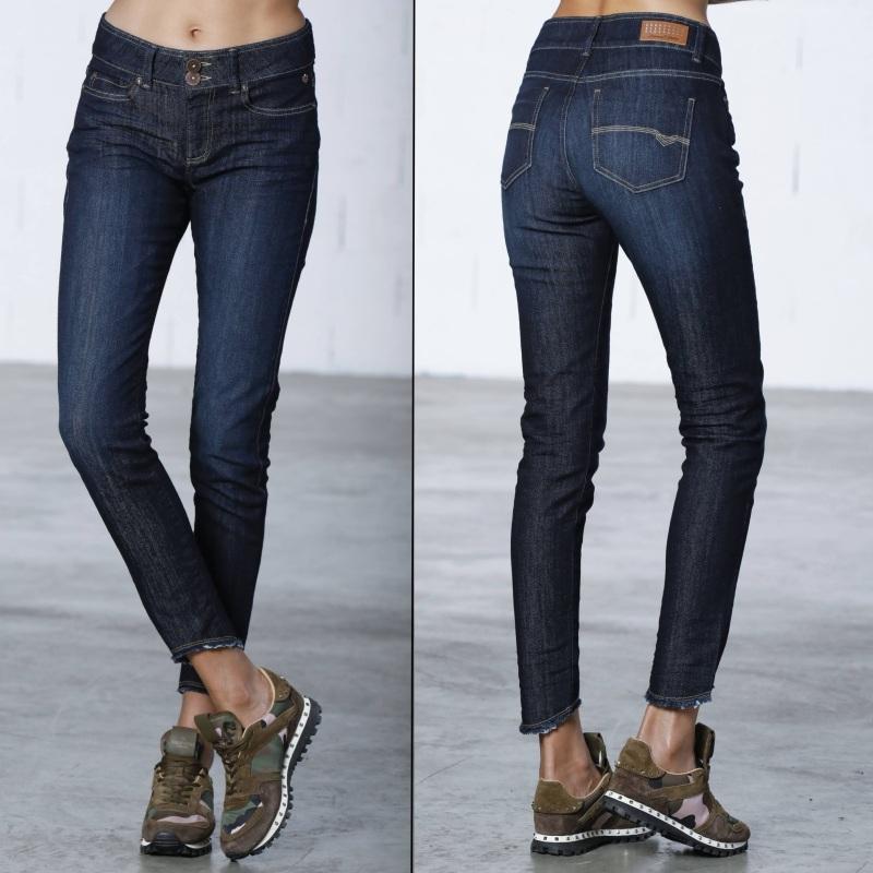 Halina Femme Jean Haute Slim Eclipse Taille Freeman Promo En Porter OPn0kX8w
