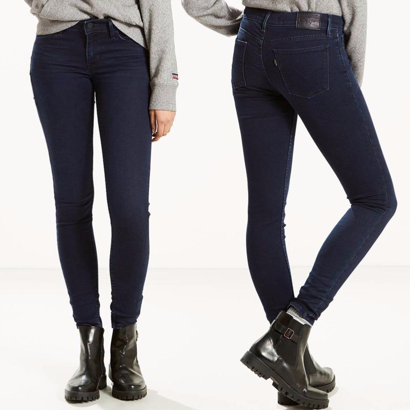 jean levis femme 710 super skinny dantes peak mi haute. Black Bedroom Furniture Sets. Home Design Ideas