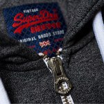 Veste Superdry Vintage Authantic Duo Zip grise