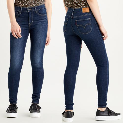 Jean Levi's femme 720 super skinny taille haute high life warm