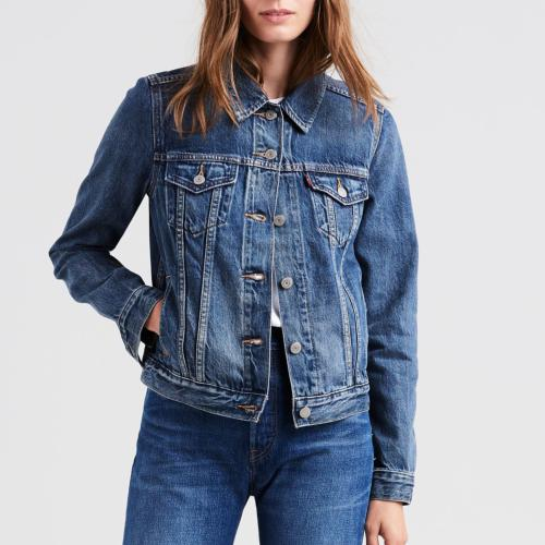 Veste en Jean femme Levis modèle Original Trucker Soft As Butter Dark