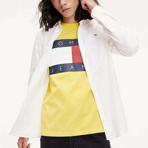 Chemise blanche Tommy Jeans homme