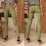 Jean femme Freeman T Porter Alexa Magic color turf green