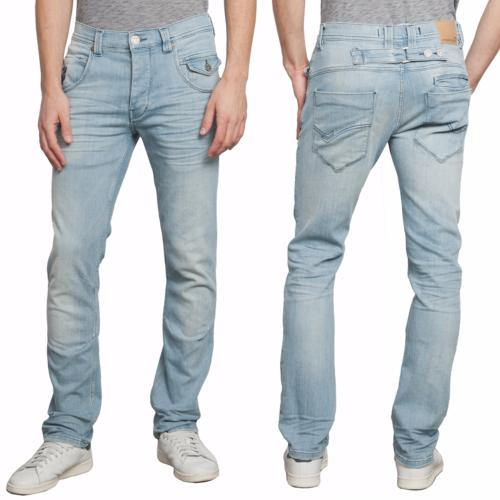 Jeans Homme Freeman T Porter Eddy Fleach coupe droite straight