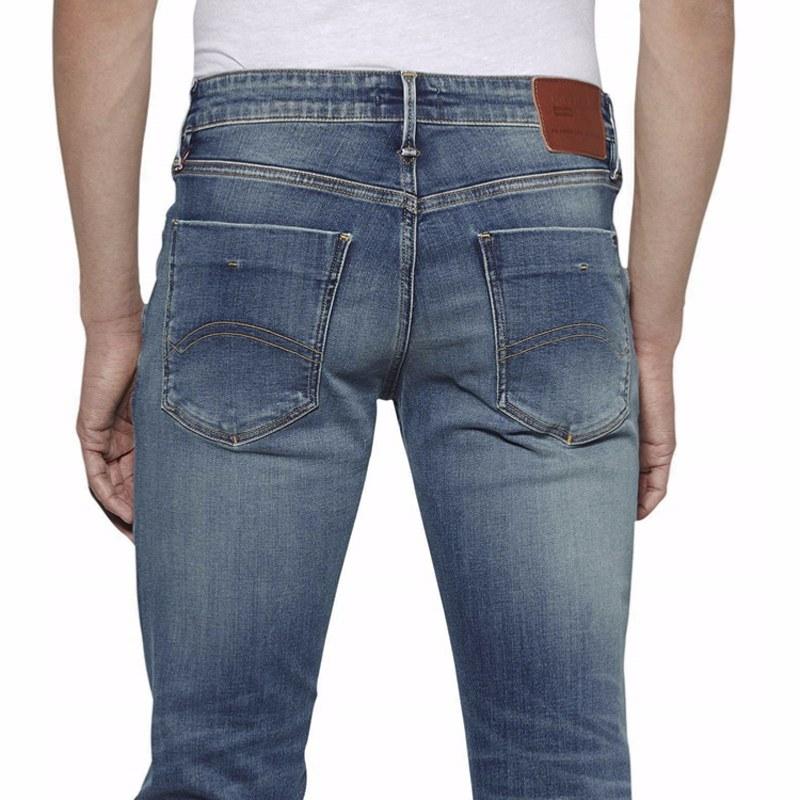 Bleu Tommy jeans homme Scanton Slim