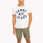 Tee Shirt blanc Tommy Jeans Nyc pour homme
