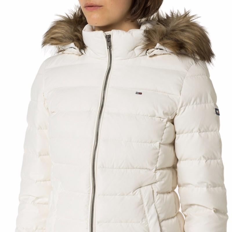 doudoune blanche duvet femme