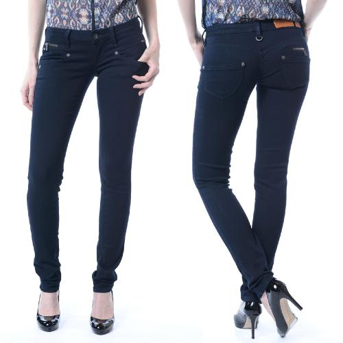 jean femme Freeman T Porter Alexa slim magic denim bleu