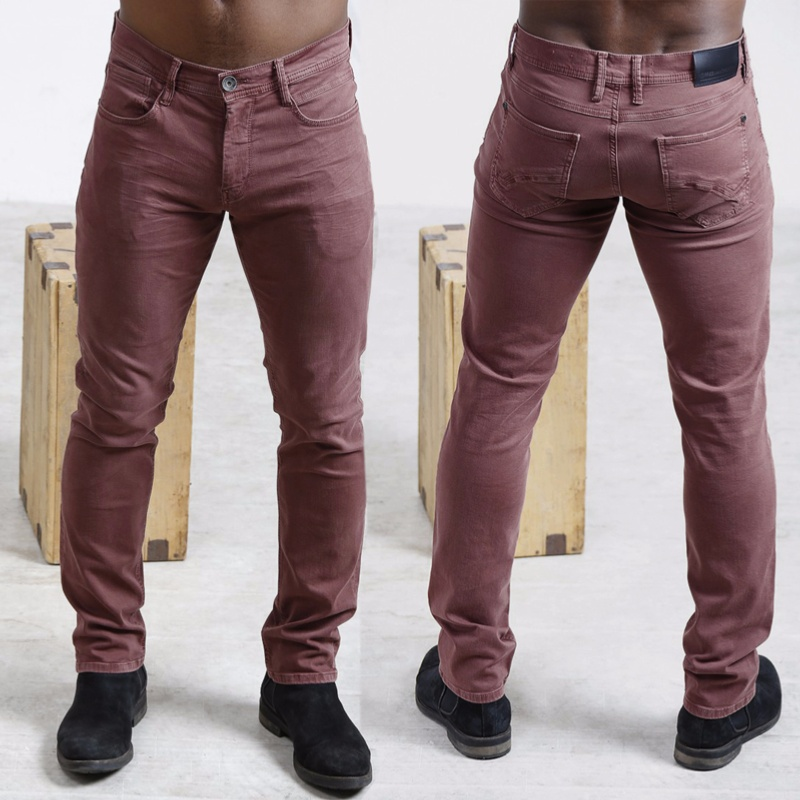 Pantalon homme freeman t porter jimmy straight bordeaux for Freeman t porter homme