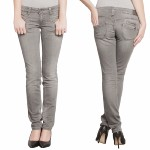 Jean Freeman T Porter Alexa power slim pour femme gris agrey