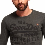 T Shirt manches longues Superdry Vintage Authantic Tonal Tee