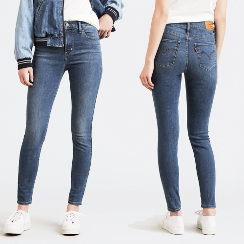 6060ace2a Jean Levis femme 720 Pave The Way super skinny taille haute