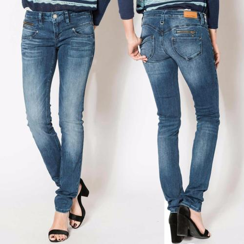 Jean Freeman T Porter  Alexa Slim Magic Denim flexy indigo