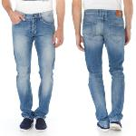 Jean Freeman Porter homme modèle Dustee Forsan coupe relax slim