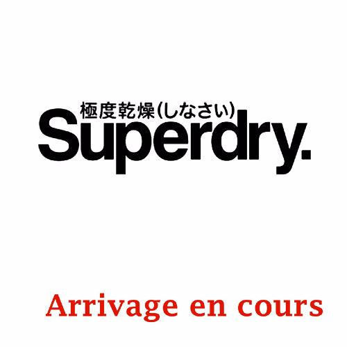 Caban Superdry homme modèle Commodity Pea Coat en drap de laine anthracite