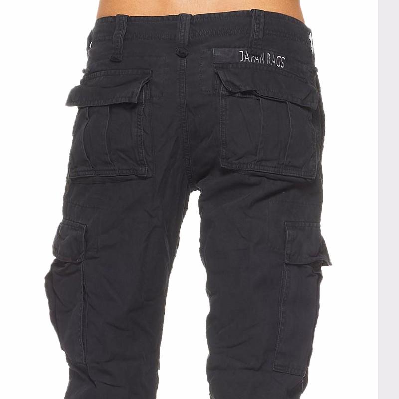 Treillis japan rags mod le mirador noir - Pantalon treillis japan rags ...