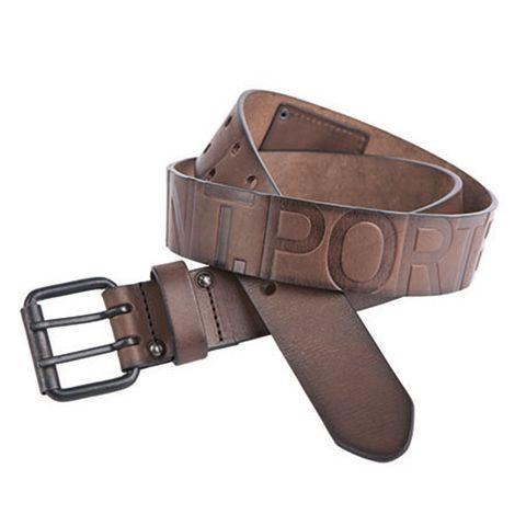54b0de2e2f5 Freeman Porter - ceinture Freeman T Porter modèle Arthur en cuir brun foncé