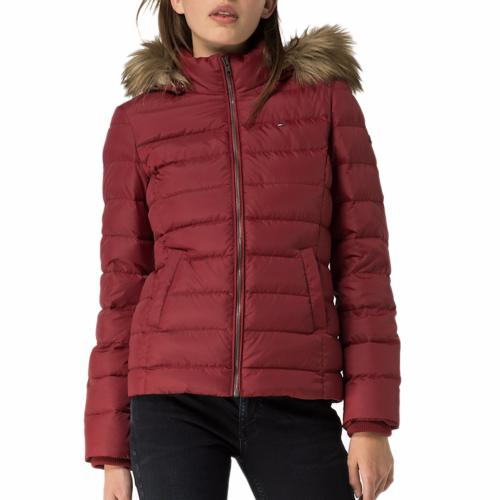 Doudoune femme Tommy Hilfiger rouge Rumba Red