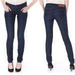 Jean Freeman T Porter femme Demonia eclipse coupe super slim