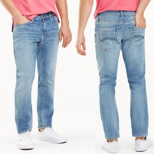 Jeans Tommy Hilfiger homme Scanton slim Dynamic Rex Light Blue Stretch