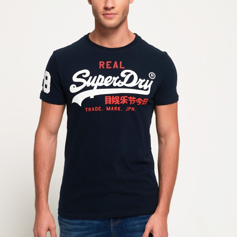t-shirt homme superdry