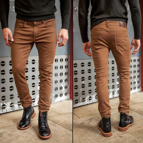 Pantalon homme Freeman T Porter Jimmy Parc dark gold