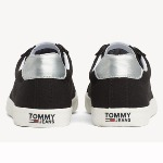 Chaussures en toile Tommy Hilfiger Jeans femme coloris Midnight