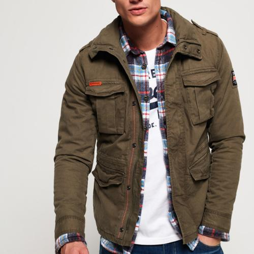Veste army Superdry Rookie Military Jacket kaki