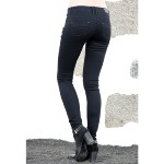 Jean femme Freeman T Porter Dorya magic noir super slim