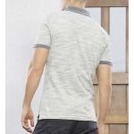 Polo Freeman T Porter homme Ridley Sand gris chiné