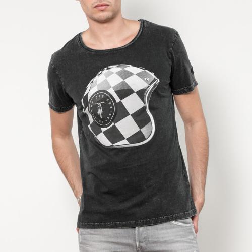 972687670a9c4 T Shirt Le Temps des Cerises homme Human noir