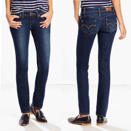 Jean levis femme pas cher levis revel et demi curve coupe - Jeans femme taille haute coupe droite ...